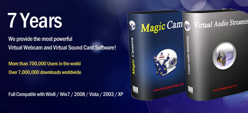 MagicCamera over 7 millions downloads
