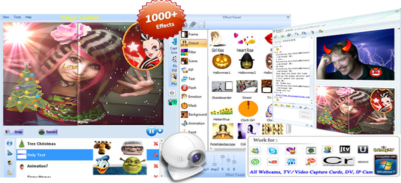 Magic Camera screenshot - with effects